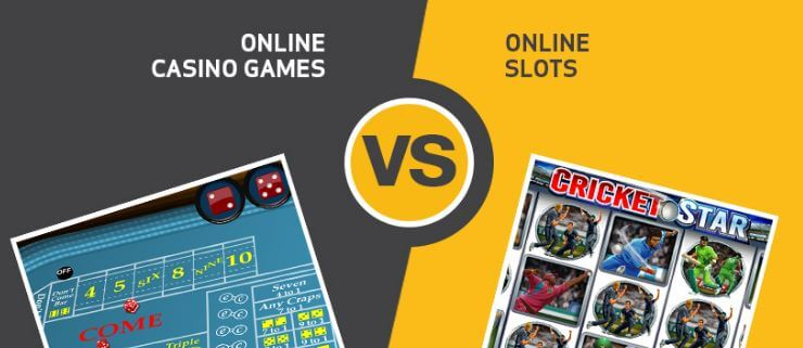 SLOTS VS TABLE GAMES